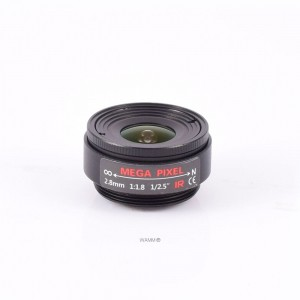 AIDA CS Mount 2.8mm Fixed Focal Mega-Pixel Lens